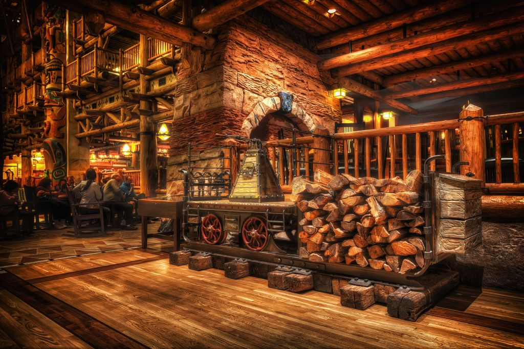 Wilderness Lodge Stove by Marc Perrella
