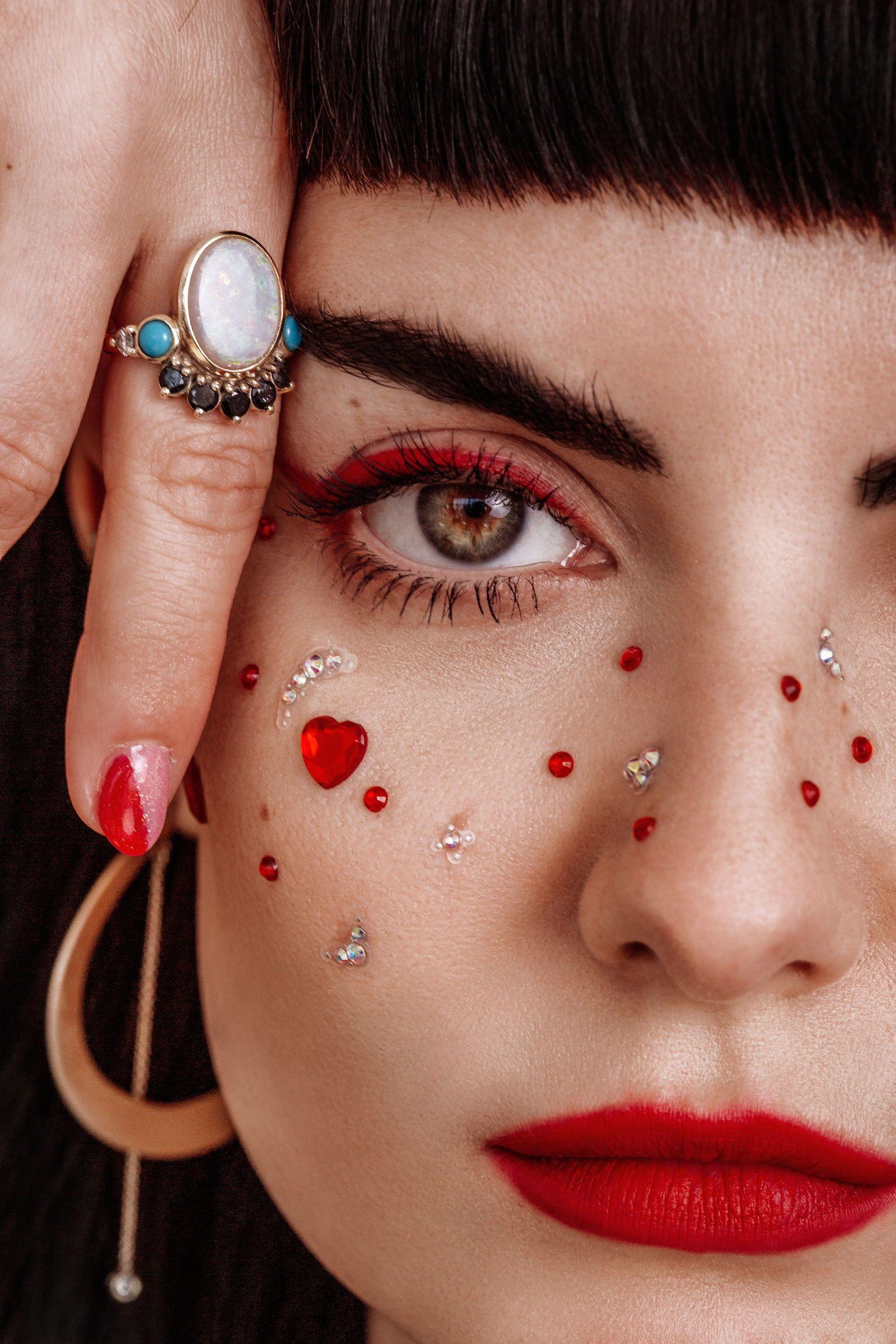 Marrow Fine Jewelry Valentine S Editorial Champagnevictoria Champagneunicorns Marrowfinejewelry Madm Valentines Makeup Jewelry Editorial Fashion Valentines