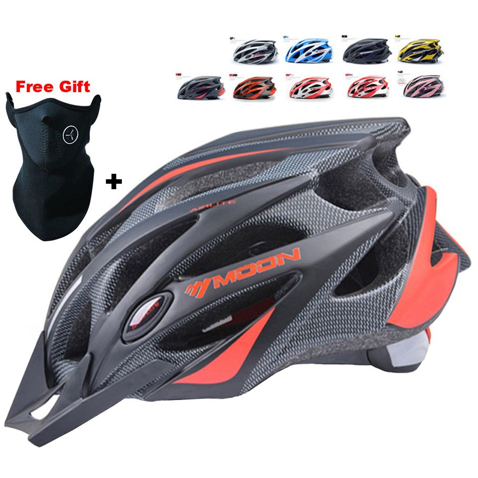 Moon Cycling Helmet Ultralight Bicycle In Mold Mtb Bike Lixada Mountain Casco Ciclismo Road