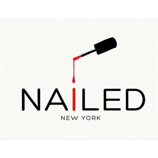 Nailed NYC logo. | Nailed | Pinterest | Logos, Salons and Nail salons