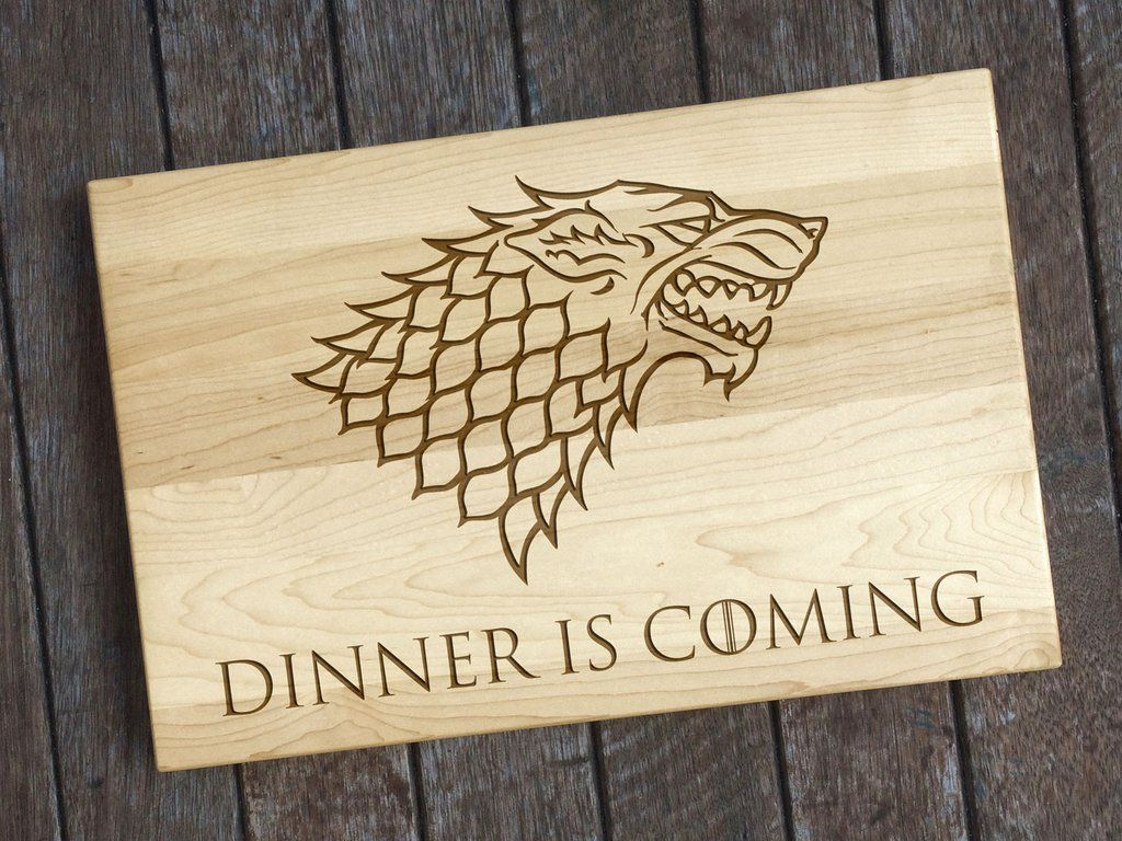 Game of Thrones Cutting Board - Dinner is Coming Cutting Board