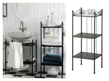 Ikea RÖnnskÄr Bathroom Shelving Unit