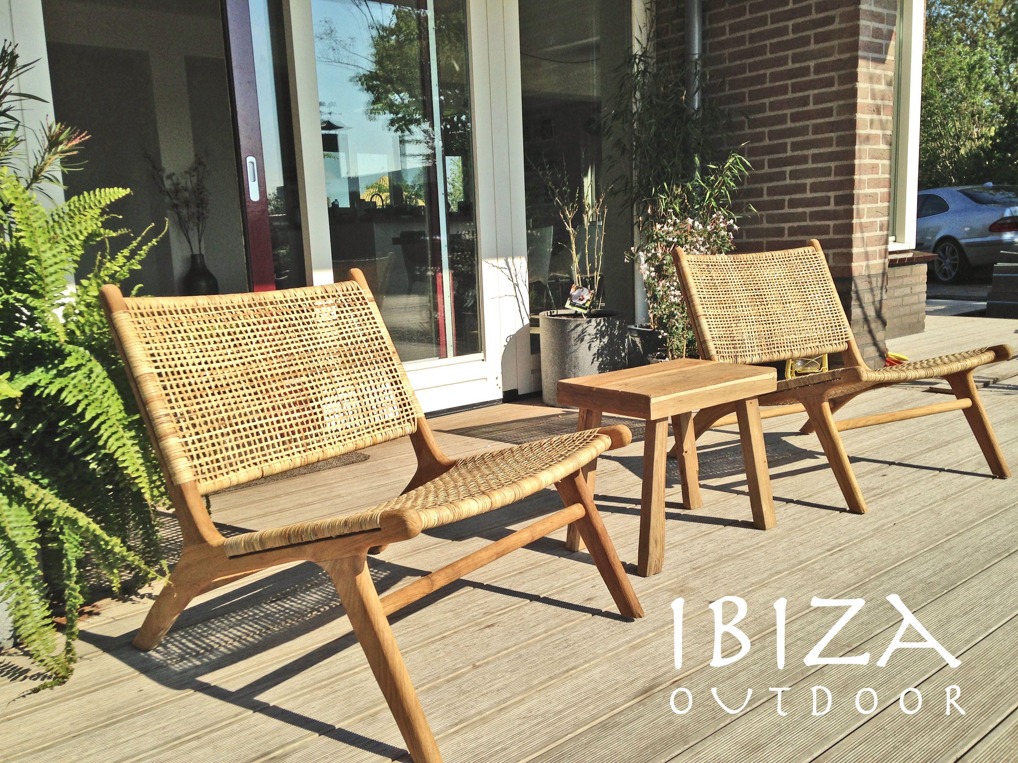 Leuke foto ontvangen uit gouda met onze ushuaia lounge stoelen van rotan staat erg leuk op deze - Woonkamer rotan voor veranda ...