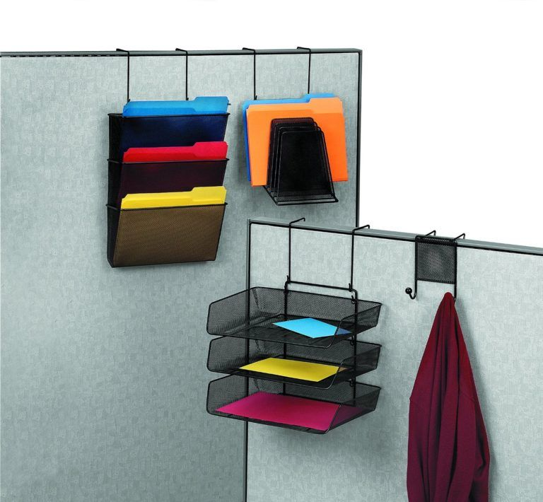 Close Up Cubicle File Hangers Walls Cube