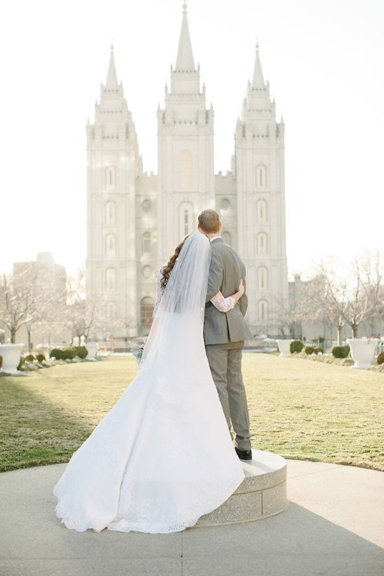 Dream To Have All My Children Happily Married In The Temple Modest Wedding Dresses Lds Mormon Wedding Amazing Wedding Dress