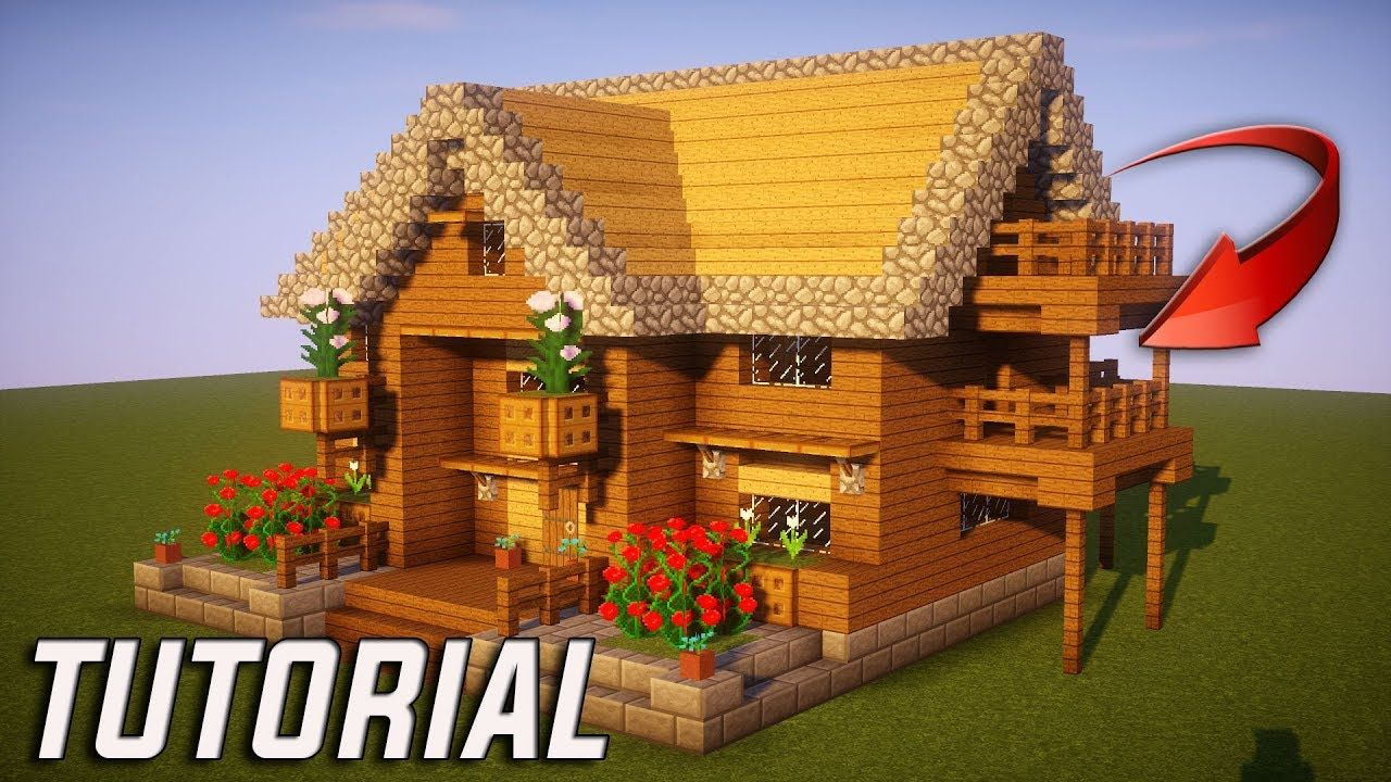Minecraft: How To Build A Survival Starter House Tutorial ( 10