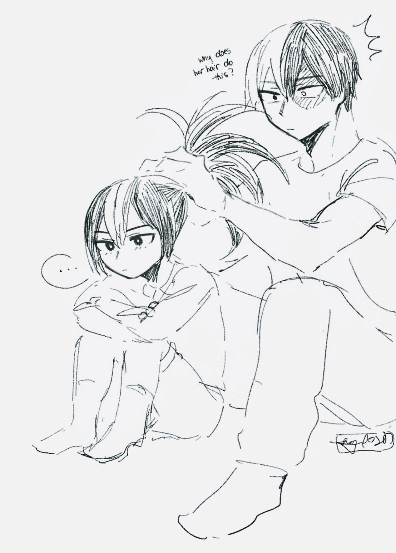 Hello I Draw On Twitter Japanese Animation Anime Anime Ships
