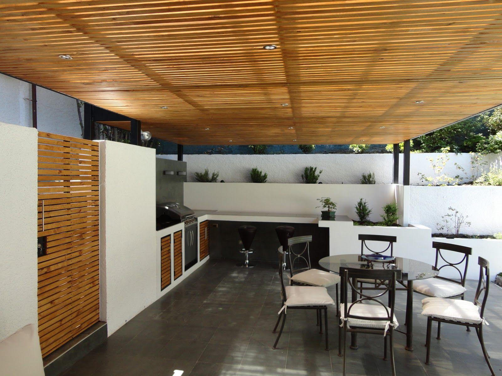 Quinchos modernos buscar con google casa quinchos for Casa minimalista con quincho