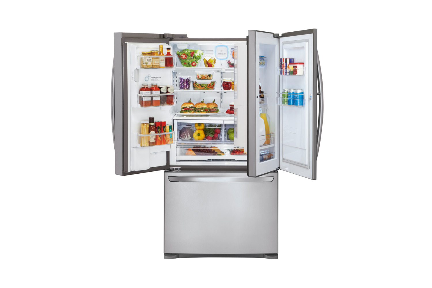 Whiteware Fridges Lg 730l Door In Door Fridge Freezer Harvey