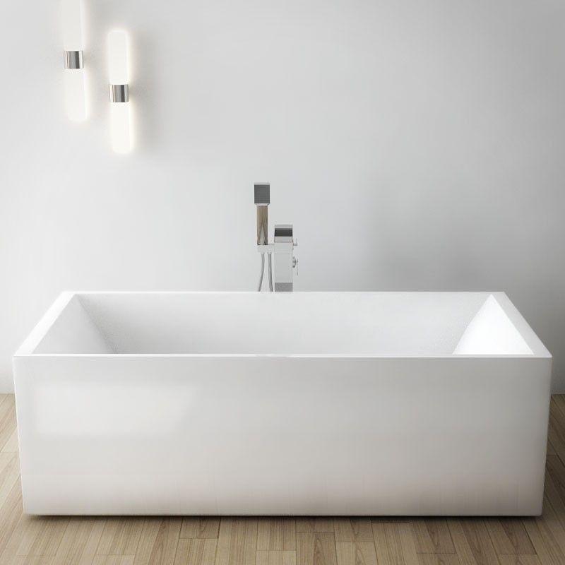 baignoire ilot rectangulaire 180x80 cm acrylique kobo. Black Bedroom Furniture Sets. Home Design Ideas