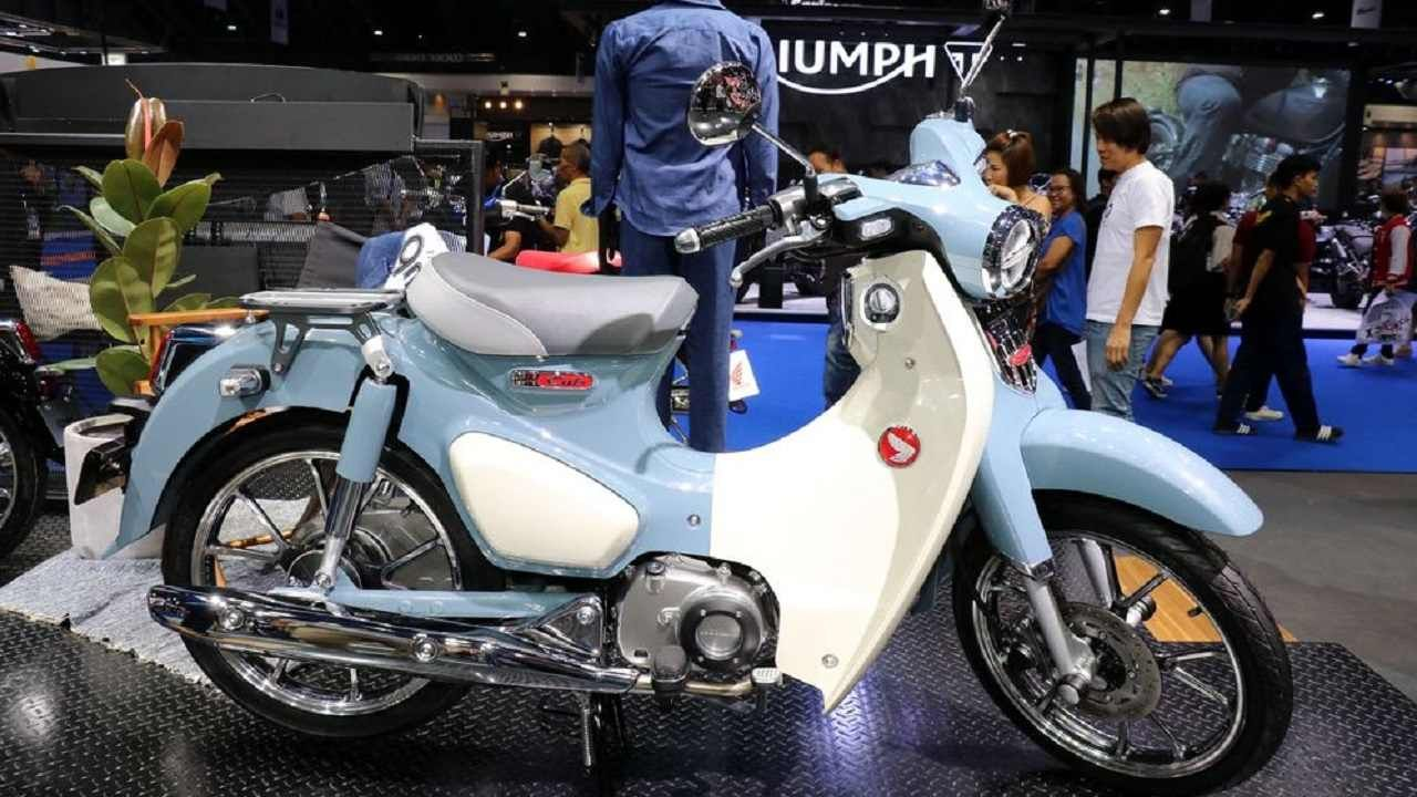honda super cub 125 the highlight of this year s edition of the motor show in bangkok was the. Black Bedroom Furniture Sets. Home Design Ideas