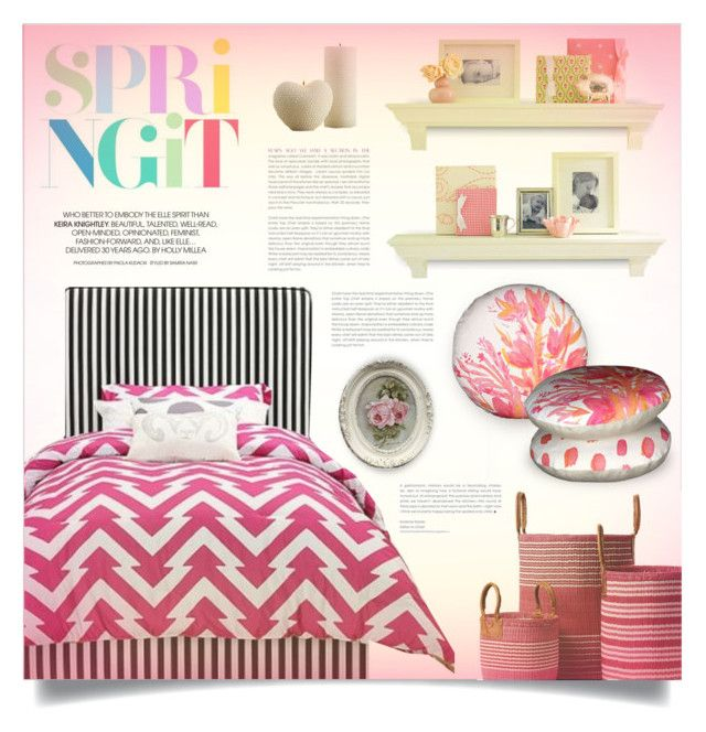 """""""Spring it"""" by retrocat1 ❤ liked on Polyvore featuring interior, interiors, interior design, home, home decor, interior decorating and Serena & Lily"""