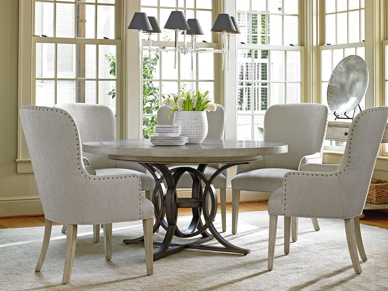 Shop For The Lexington Oyster Bay 6 Pc Dining Set At Sprintz Furniture    Your Nashville, Franklin, And Greater Tennessee Furniture U0026 Mattress Store