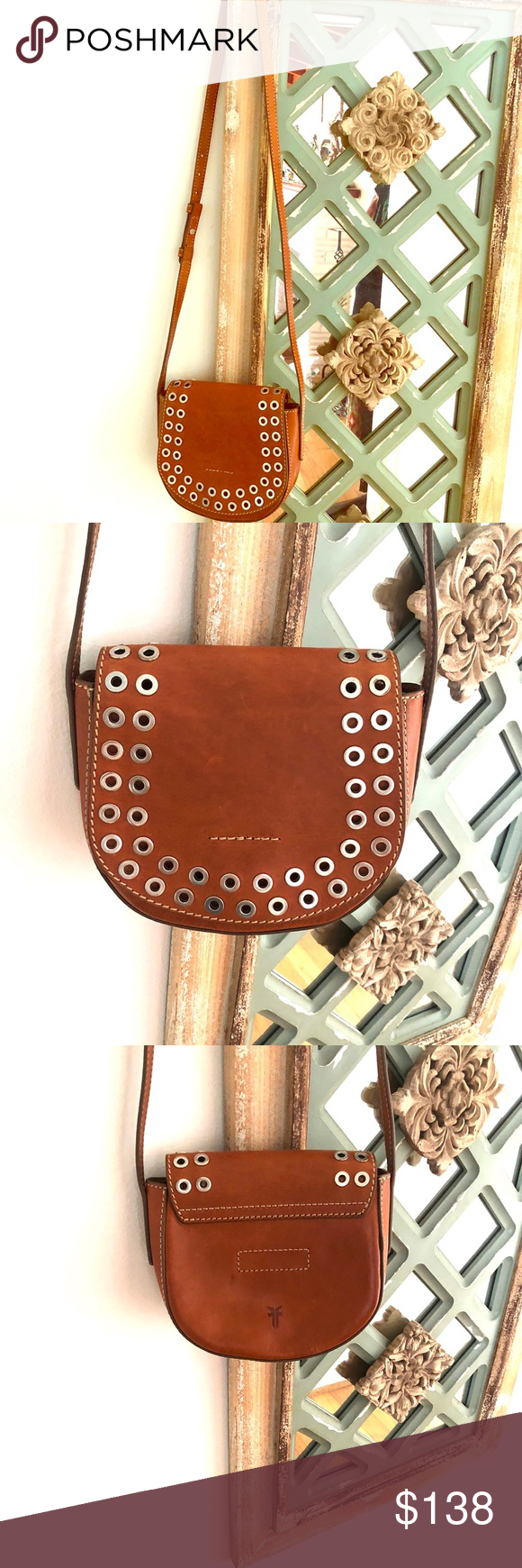 💯 Authentic Fry Cassidy Small Saddle Bag Rust 😍 NEW RUST CASSIDY FRYE SADDLE BAG 🌻 You can use as a...