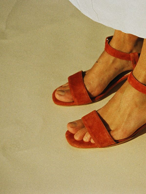 SOPHIE SANDAL, COPPER SUEDE | Me too shoes, Fashion shoes, Shoes