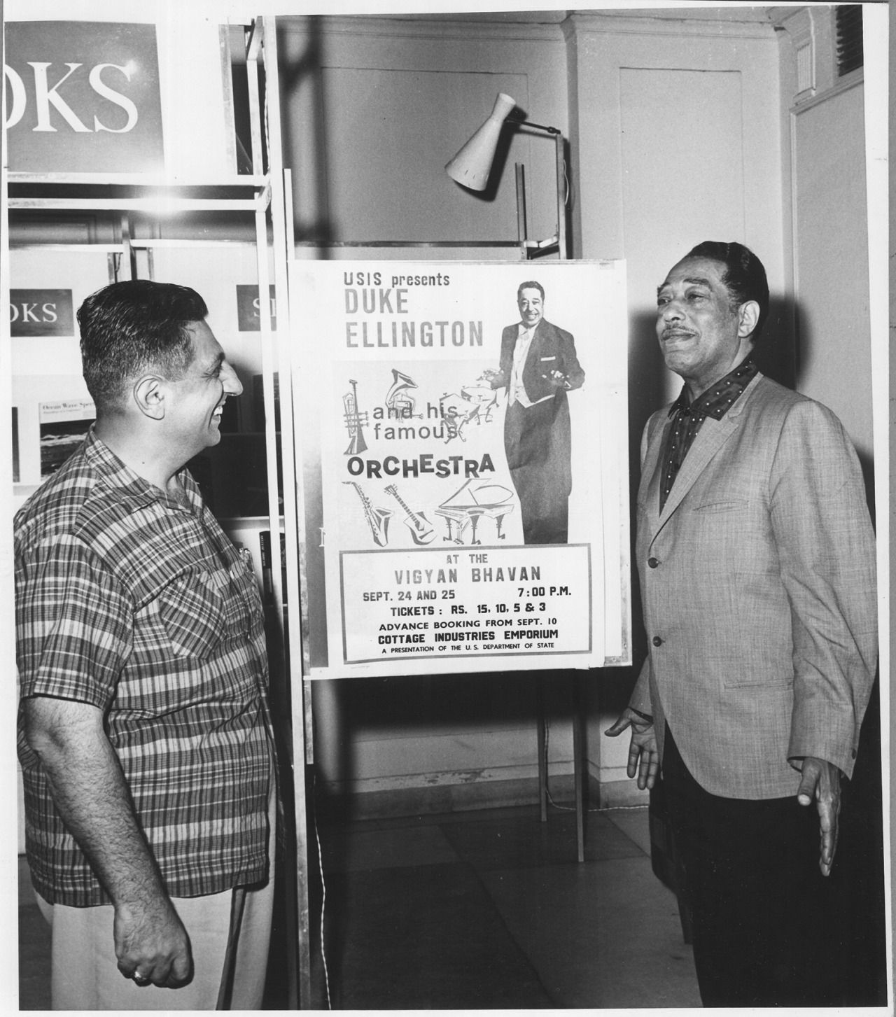 didierleclair:  SO, YOU'RE ALL COMING OR WHAT?Duke Ellington inviting people to concert