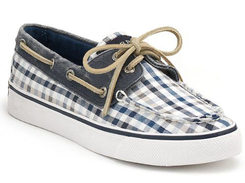 Fun and playful shoe by Sperry,Tru moc construction,Cotton canvas for breathability,Padded Sole,Has Great Traction for Wet or Dry,Razor cut wave-sipping on outsole,Shock Absorbing EVA Heel Cup,Keep Yourself In Style With These Casual Shoes http://www.amazon.com/dp/B0058ZAGTW/?tag=icypnt-20