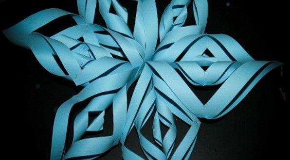 Stella tridimensionale di carta Stella tridimensionale di carta -Realizzare questa stella è molto ...