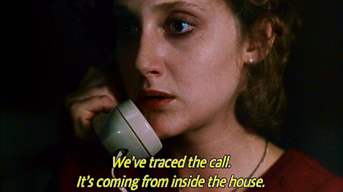 Image result for the call is coming from inside the house meme