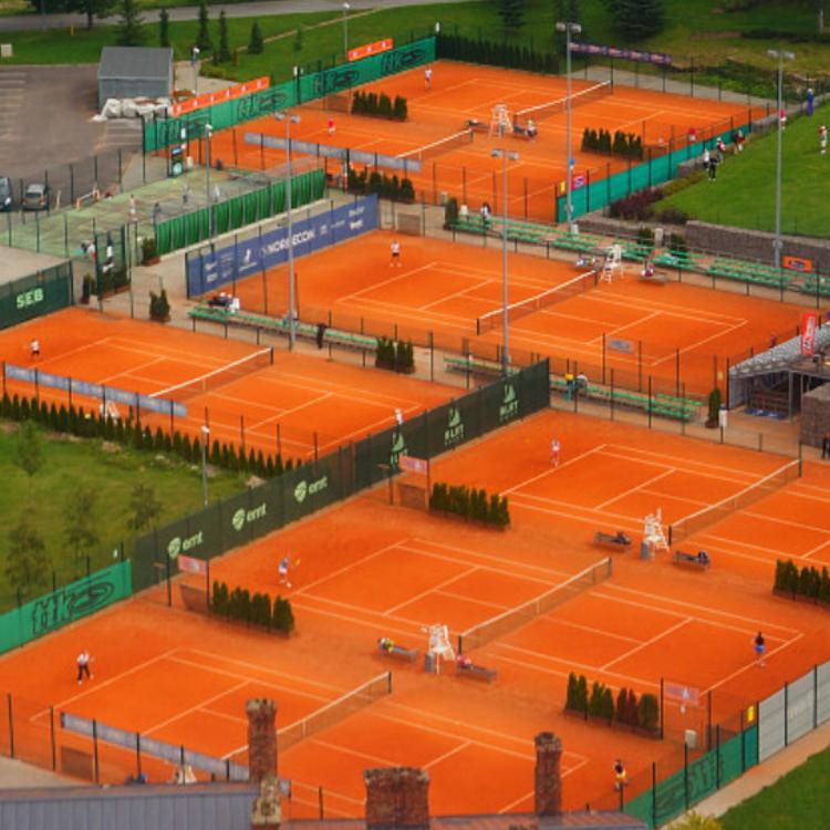 Orange Anyone Tennis Court Design Sports Training Facility Tennis Court