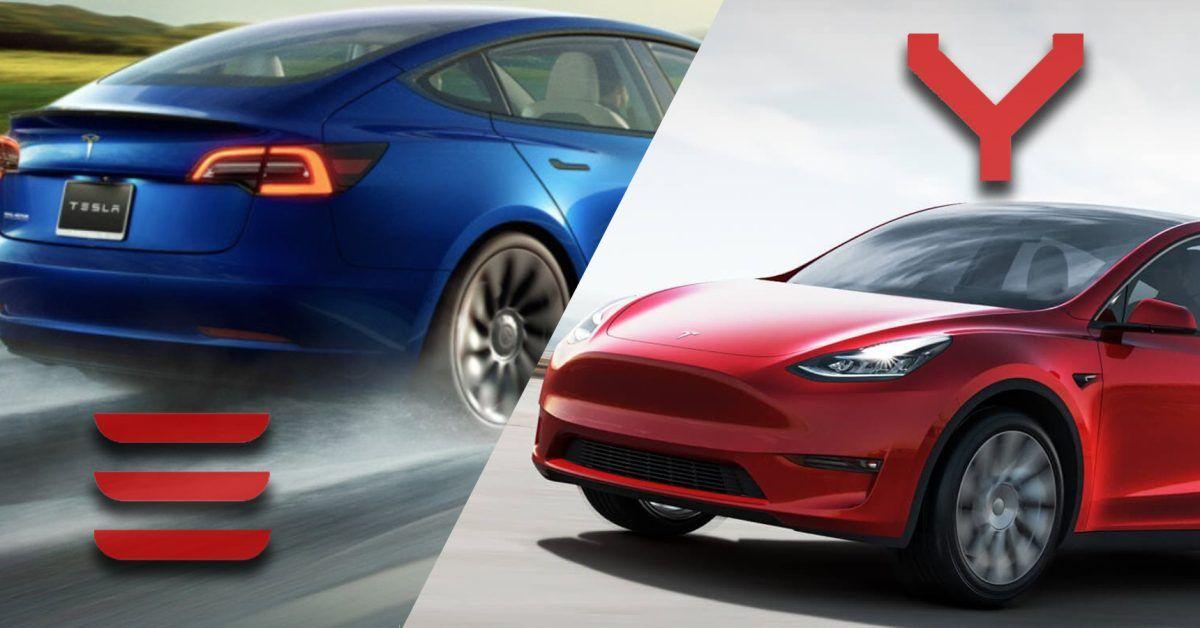 Tesla Model 3 Vs Model Y The Latest Generation Basics Compared Tesla Model Tesla Tesla Car