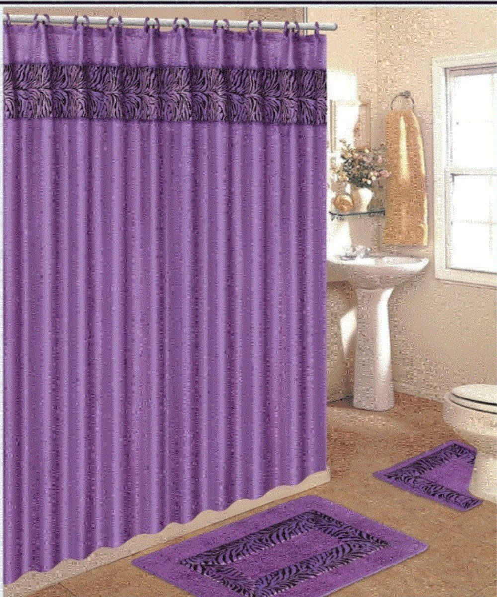 Purple Bathroom Rug Set Home Fiesta Pinterest Purple - Plum bath mat for bathroom decorating ideas