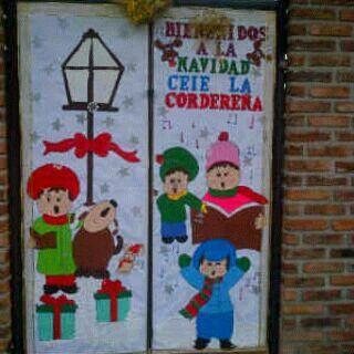 Decoracion de puertas escolares manualidades pinterest for Decoracion de puertas escolares