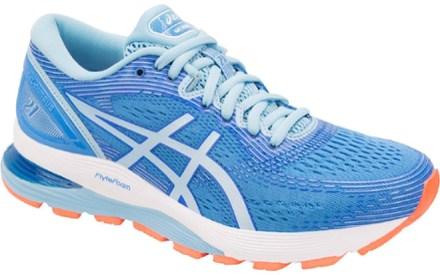 Men's GEL NIMBUS 21 (4E) | BlackDark Grey | Running Shoes