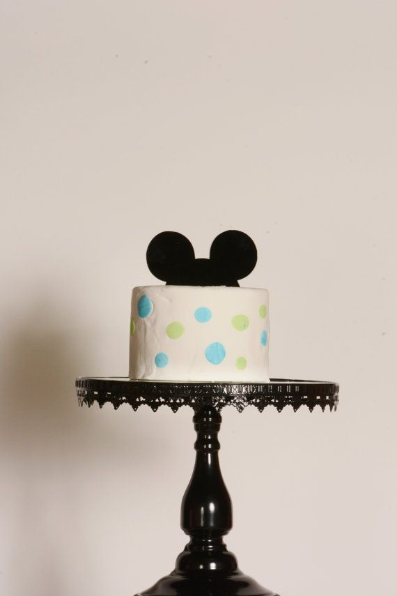 Mickey Mouse Cake Topper Ears By 1thecherryontop