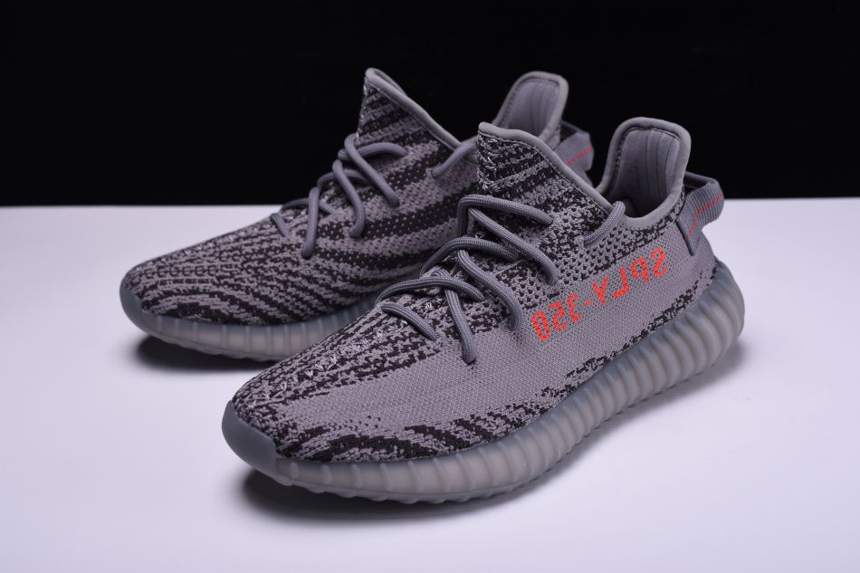 "New adidas Yeezy Boost 350 V2 ""Beluga 2.0"" Grey Bold Orange-Dark Grey Men s  and Women s Size AH2203 0e6a07c3c"