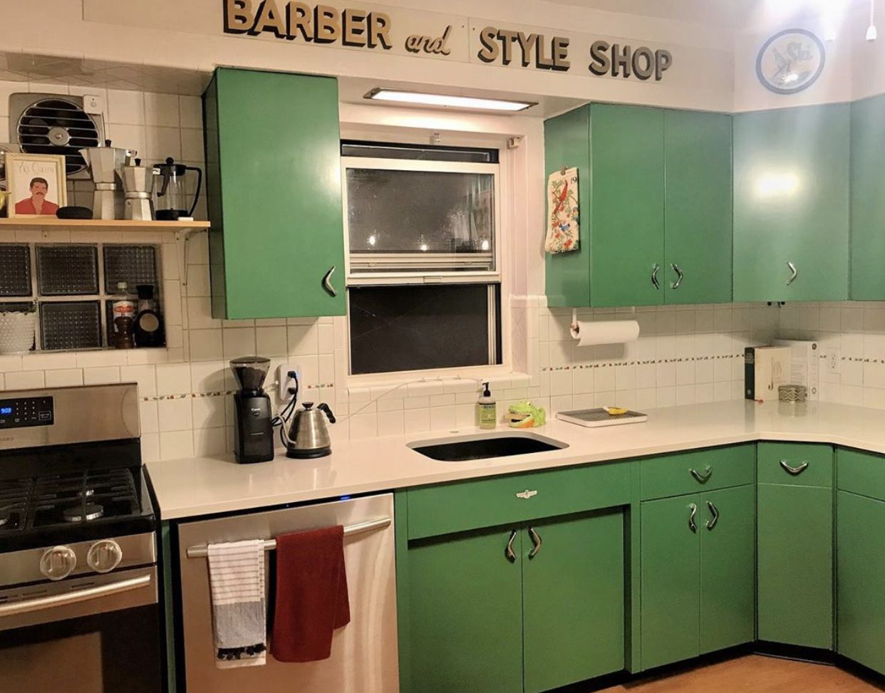 Refurbished Youngstown Kitchen Metal Steel Cabinets Steel Cabinet Kitchen Kitchen Cabinets