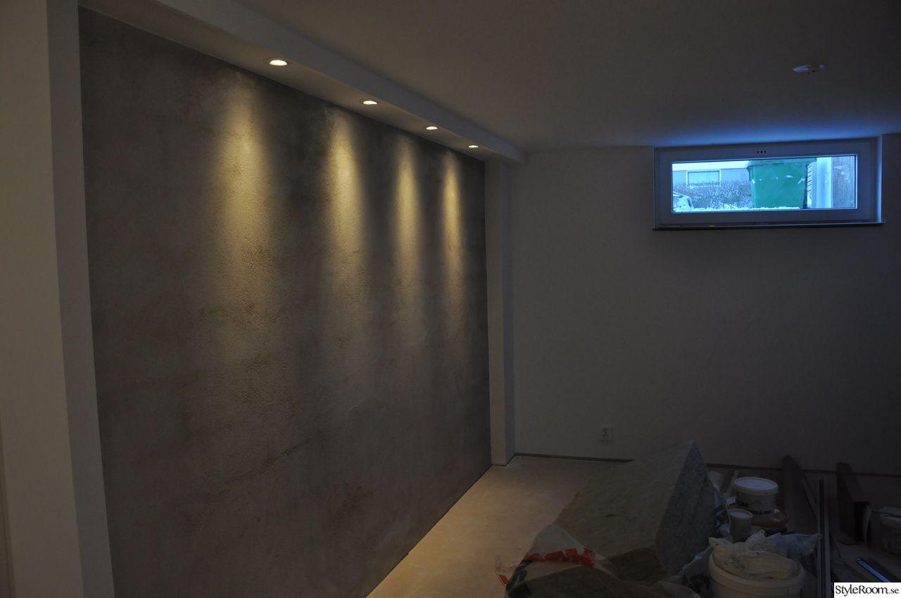 sovrum,betongvägg,belysning,källare Inredning Pinterest Rum, Basements and Bedrooms