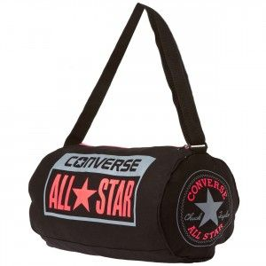 a6fc76ca62 CONVERSE All Star Small Legacy Duffel Bag - Black / Crimson / Grey ...