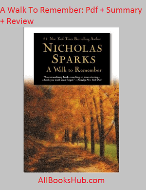 summary of a walk to remember book