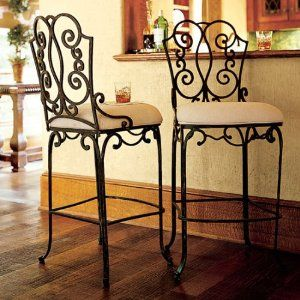 The Bombay Company Store Barstool Stylehive Iron Bar Stools Wrought Iron Furniture Furniture Design Chair