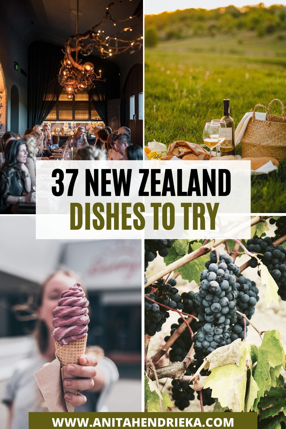 New Zealand Food 37 Foods You Must Try When Visiting Nz Anita Hendrieka In 2020 New Zealand Food New Zealand Travel New Zealand