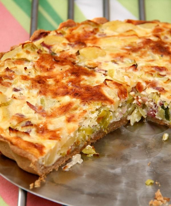 Lovely Leftover Corned Beef Quiche Recipe Quiche Recipes Thermomix Recipes Leek Quiche