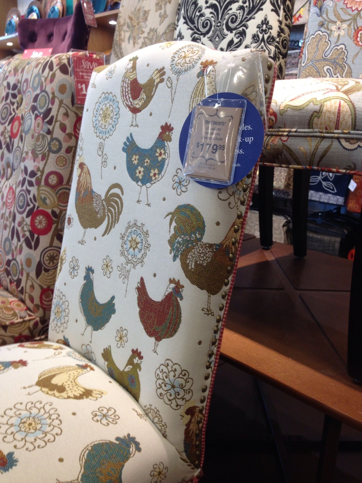Good Pier 1 Rooster Chair. Too Cute