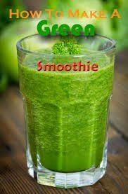 """This is a recipe I just made to try out the """"green smoothie craze"""":  1 banana, 1 baby orange, about 3 cups of super frozen spinach, about 1 tbs. of peanut butter, and about 4 cups of cows milk.  It's amazing, I'm so glad I tried this out and I definitely recommend it!"""