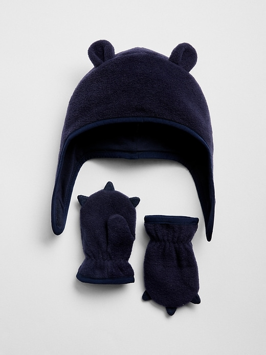 0465d233 Baby Fleece Trapper Hat Set | Products | Trapper hats, Hats, Baby ...