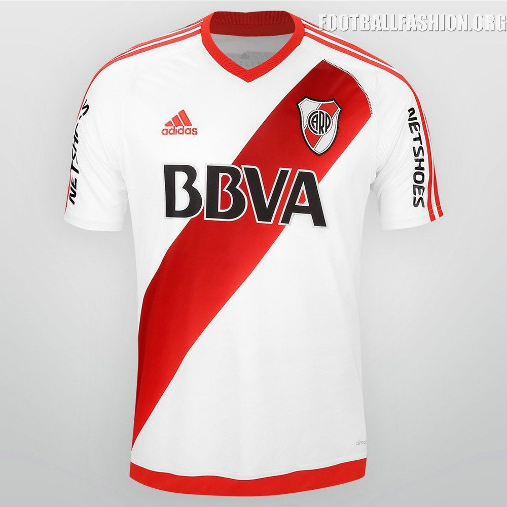 River Plate 2016 adidas Home Kit