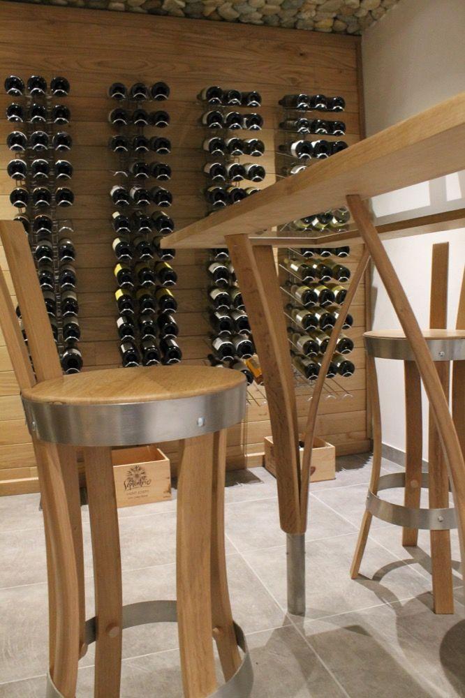 Agencement cave vin en Savoie, Loik Routin | Aménagement de cave à ...