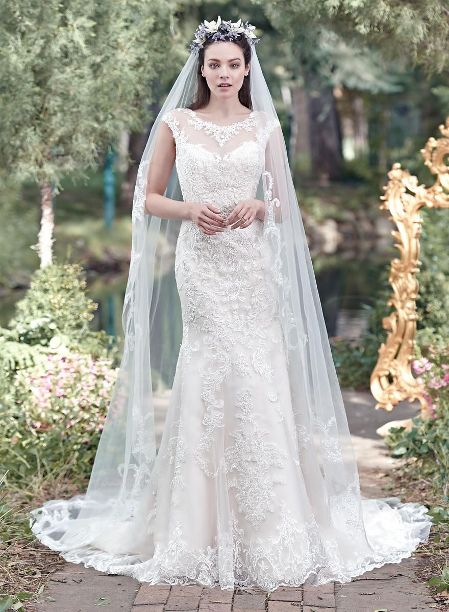 Maggie Sottero Veil Mercedes Vl6mn268 Maggie Sottero Wedding