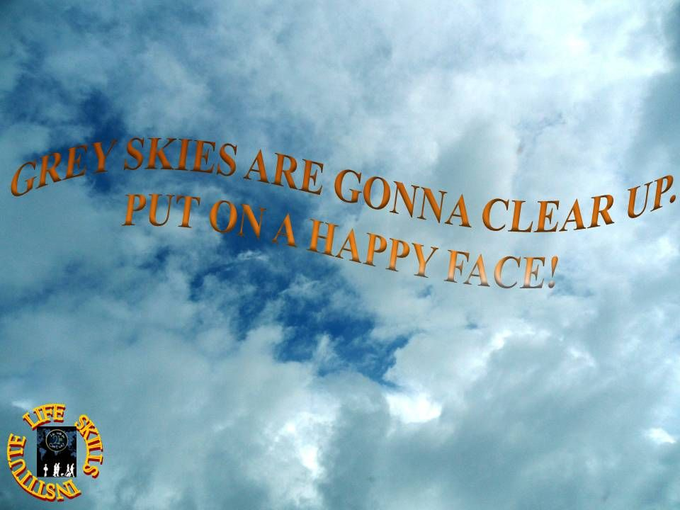 CLEAR GREY SKIES