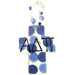 Alpha Delta Pi Sorority Cross www.sassysorority.com #ADPI #Sororitygifts