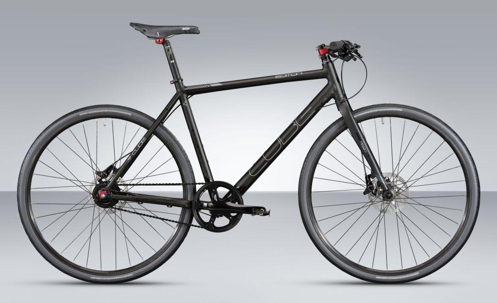 Cube Urban cube editor - puristisches urban bike mit alfine-11 nabenschaltung