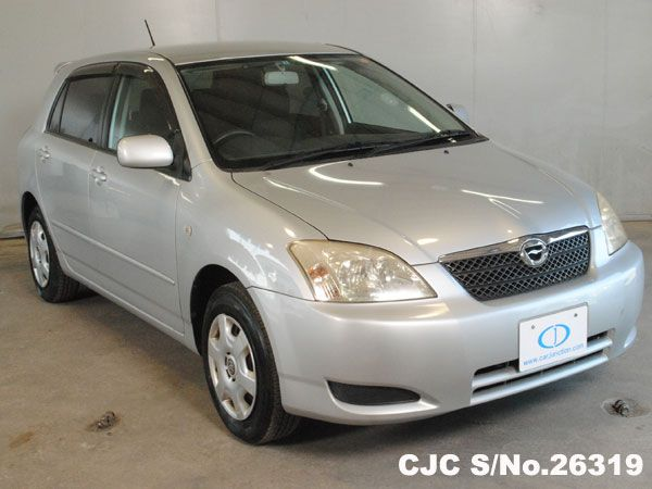 2003 Toyota / Corolla Runx - Stock No: 26319,  Chassis: NZE121,  Grade: 3.5 - Good Condition, Type: Hatchbacks, Mileage: 92480 km, Engine : 1.5 , Fuel: Petrol, Transmission: AT, Steering : Right Hand Drive (RHD), Colour: Silver, Doors: 5, Seats: 5, Location: Harare.  #cars  #ToyotaCorollaRunx #Japaneseusedcars