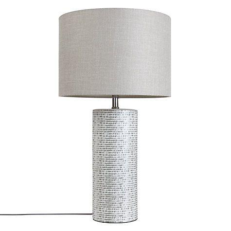 John Lewis & Partners Minna Large Ceramic Cylinder Table ...