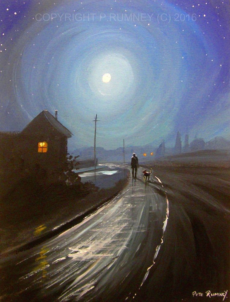 Pete rumney fine art buy original acrylic oil painting dog for Where to buy fine art