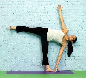 asana analysis half moon pose/ardha chandrasana  yoga